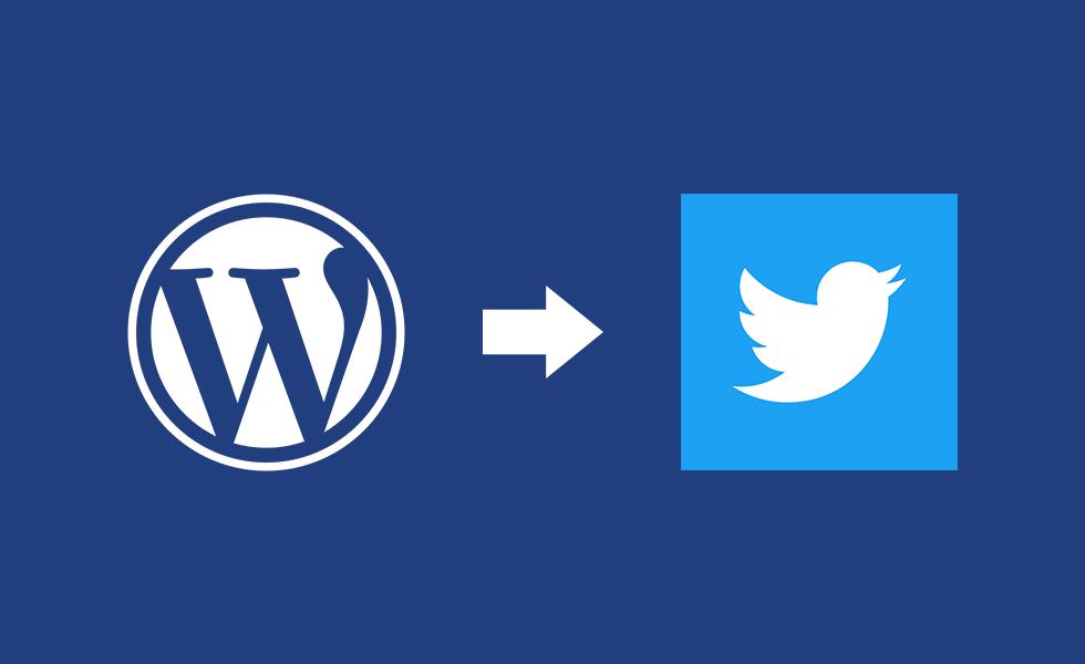 【2019年4月版】WP to TwitterでWordPressからTwitterへ自動投稿する